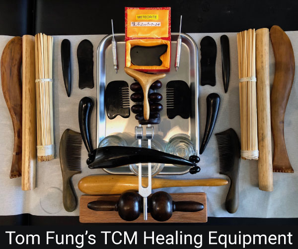 Tom Fung's TCM healing equipment
